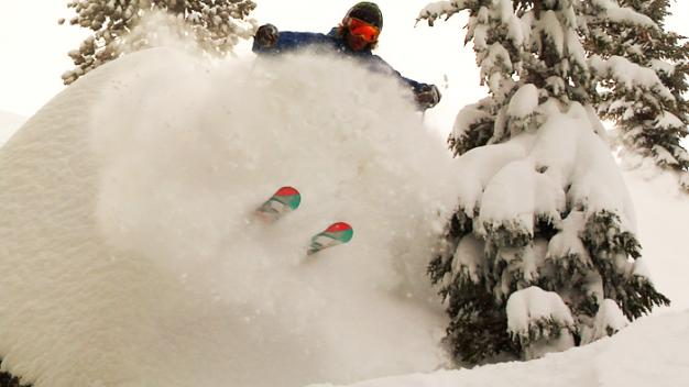 powder was the name of the game!
